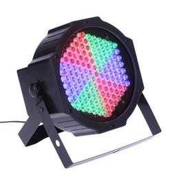 Wholesale Dmx 127 - Professional 127 RGB LED Effect Light DMX512 7CH Par Lights DMX-512 Disco DJ Party Show Stage Lighting US EU PLUG