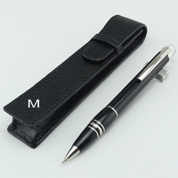 Wholesale Cases For Pens - Luxury pencil case package option middle night black mechanical Pencil 0.7mm Offce school supple pencils Pen for writing