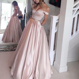 Wholesale Cheap Leather Sleeves - New Arrival 2017 Pink Prom Dresses With Cap Sleeve Color Custom Blue Red Cheap Formal Evening Wear Plus Size Beaded Graduation Party Gowns