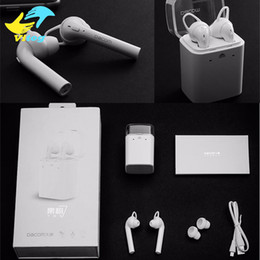 Wholesale Bluetooth Phone Dacom - DACOM TWS Bluetooth 4.2 Earphones Sports Mini Bluetooth Headset Hands Free Wireless Earphones For Iphone Xiaomi Samsung Phone