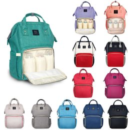 Wholesale Baby Diaper Nappy Bag Backpack - free shipping Fashion Maternity Mummy Nappy Bag Brand Large Capacity Baby Bag Travel Backpack Desinger Nursing Diaper Bag Baby Care