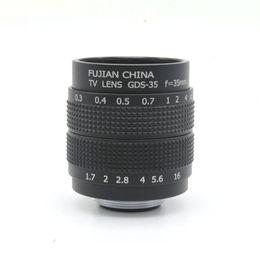"Wholesale Body Fx - 35mm F 1.7 C mount 2 3"" CCTV lens body for Digital Camera Micro 4 3 Sony NEX FX"