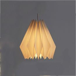 Deutschland Polygonale Origami-Lampenschirm-weiße Partei-Dekorations-Lampe für Lving-Raum-Schlafzimmer vollkommenes und kompaktes Papier-Lampen-Handwerk Versorgung
