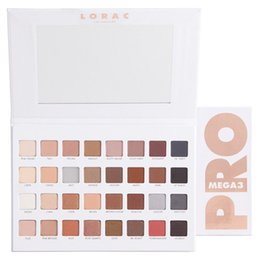 Wholesale mega size - 2017 Lorac Mega Pro 3 Los Angeles Palette Limited Edition Eyeshadow Palette 32 Shades Vs Shimmer & Matte Eye Shadow Palette