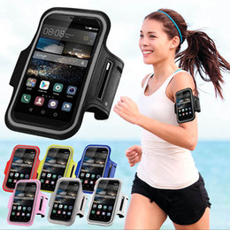 Wholesale Huawei Ascend Case Cover - Wholesale- For Huawei Ascend Y600 Y635 620s P6 P7 P8 P8 Lite P9 5X Running Sport Gym Armband Bag Case Jogging Arm Band Mobile Phone Cover