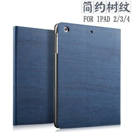 2019 support de manche ipad Gros-Smart Flip Case Cover pour ipad 4 étui de protection ipad 2 étui mince Tablet ipad 3 coque de protection Fonction réveil / sommeil support de manche ipad pas cher