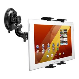 Wholesale Car Holder For Tablet Pc - Wholesale- Car Windshield Stand for Medion Lifetab S10345 S10346 Universal 7-10 inch Tablet PC Holder Rotating 360 Degree Support GPS