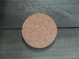Wholesale Wholesale Wood Coasters - Wholesale- Round shape 100% natural cork coasters, ideas for wedding and party gift, customization acceptable