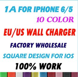 Wholesale Iphone5 Ac - Wholesale 1000mAh US Plug USB Travel AC Power Wall charger Adapter Charger for mobile Phones and iPod for Iphone5 5S 500pcs lot