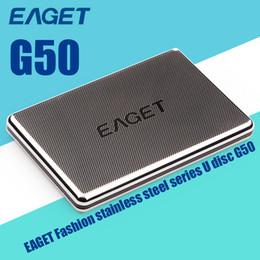 2019 disques durs internes pour ordinateurs portables Vente en gros-vente chaude Eaget G50 disque dur externe 500 Go / 1 To haute vitesse HDD Case Desktop Laptop Mobile disque dur livraison gratuite