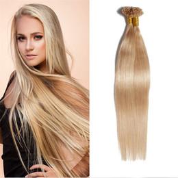 "Wholesale burgundy tips - 16""18"" 20"" 22"" 26"" 50g U Tip Nail Tip Hair Extensions Brazilian Human Hair Keratin Fusion Hair Extensions 100 Strands"