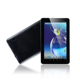 Wholesale Tablet Pc Mix 8gb - 10 Inch Tablet PC ALLwinner A33 Quad Core Tablets 1G RAM 8GB ROM Dual Camera Bluetooth HD 1024*600 Wifi 10pcs lot Free DHL