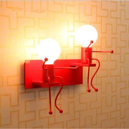 Wholesale wall light children bedroom - indoor lighting fixtures battery bedside lamp wall light bedroom bedside lamp e27 led light lamps wall lamps indoor modern Children light