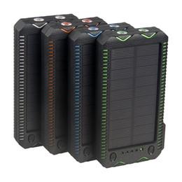 Chargeur de batterie pour téléphone intelligent en Ligne-Grande Capacité 600000mAh SOLAIRE Étanche Banque Chargeur Batterie Externe SAMSUNG Iphone Smart Phone