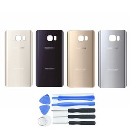 Wholesale Note Oem Glass - New Replacement parts OEM Note 5 Battery Back Cover Glass Panel with Adhesive Preinstalled for Samsung Galaxy Note 5 N920 N920P