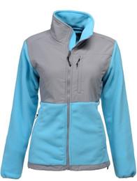 Wholesale Womens Long Hooded Jacket - 2017 New Brand High Quality Fleece Womens Fleece Hooded Jacket Winter Ski Outdoor Sports Warm Fleece Sweatshirt Outerwear Black White S-XXL