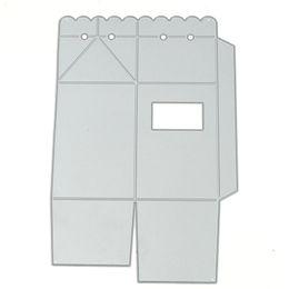 Wholesale Die Cut Boxes - Beautiful Candy Gift Box Metal Die cutting Dies For DIY Scrapbooking Photo Album Decorative Folder Stencil #95557