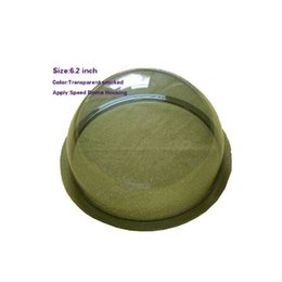 Wholesale Cctv Covers - 6.2 INCH Acrylic Indoor   Outdoor CCTV Replacement Clear Camera Dome Housing Vandal-proof Camera Dome Transparent Cover 6.2 Inch Dome Cover