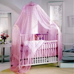 Wholesale Quality Cot - Wholesale-55*220*550cm Summer Baby Bed Mesh Dome Mosquito Net Toddler Crib Netting Baby Cot Canopy Mosquito Nets For Cribs High Quality