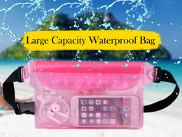 Wholesale Boat Money - Waterproof Pouch Phone Bag Money Case With Waist Strap For Beach Swimming Boating Drifting Diving Rowing Boat