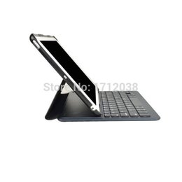 Wholesale Magnet Case Ipad Air - Wholesale- Wireless Bluetooth 3.0 keyboard case for iPad Air iPad 5 With sleeping fuction magnet stand PU leather case covers