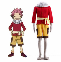 Wholesale Halloween Costumes Young - FAIRY TAIL Young Natsu cosplay halloween cosumes cosplay