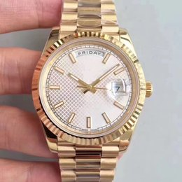 Wholesale Watche Automatic Luxury - Men's Luxury Best Edition Watch NOOB Factory 40mm Day Date President 228238 man Dial Rose Gold Swiss CAL.3255 Movement Automatic Mens Watche