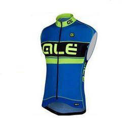 Wholesale China Pro Sports Jersey - ALE Pro sleeveless Cycling jersey vest Bike cycle cheap clothes china MTB maillot sportwear ropa ciclismo sport shirts d0616