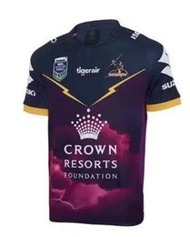Wholesale Green Fast Dry Shirt - Whosales fast shipping top quality 2017 Melbourne Storm NRL home away rugby jerseys free shipping rugby shirts