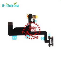 Wholesale Flex Mic - Power Switch ON OFF Button Flash Light Mic Flex Cable Ribbon For iPhone 6 4.7 for iPhone 6P 5.5 Replacement Part