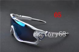 Wholesale Titanium Cycle Glasses - 28 Style Jawbreaker Bicycle Sunglasses Outdoor Bicycle Glasses UV400 Polarized Cycling Eyewears Goggles 2017 Cycling eyewear