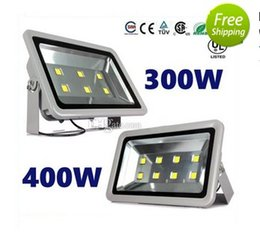 Wholesale fixture canopy - Newest 300W 400W led flood light outdoor lamp AC 110-277V led canopy lights waterproof led floodlights fixture lamp+3 years Warranty LLFA
