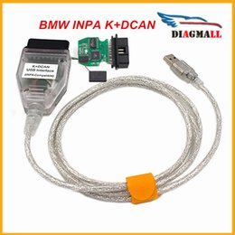 Wholesale Bmw D Can - Best Selling BMW Inpa K CAN K+CAN K + DCan FT232RL Chip USB Compatible Interface Diganostic Cable Connector For BMW Inpa K D Can
