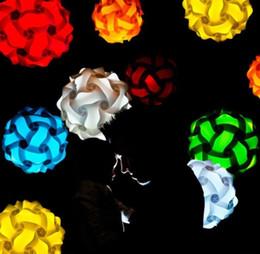 25CM IQ Lampe Décorations pour Mariage Décorations De Lampes DIY Formes puzzle lampes Pour La Maison Et salle à manger Décorations ? partir de fabricateur