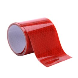 Wholesale Color Vinyl Tape - 5cmx1m Mark Reflective Safety tape stickers car-styling Self Adhesive Warning Tape Automobiles Motorcycle Reflective Film 4color