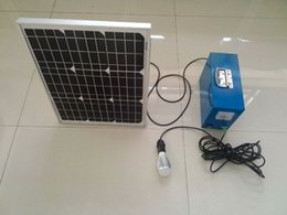Wholesale Off Grid Batteries - remote region off grid solar powerd led Li-ion Battery 7w For 4 consecutive rainy days