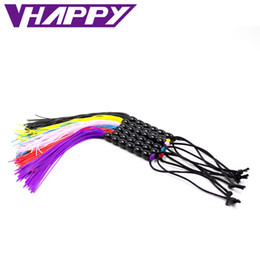 Wholesale Female Tools For Sex - Multi Colors Rubber Mini Sex Whip Sex Toy For Adult Fun Tools Cosplay Games Slavery Flogger Flirt Toys Adult Games bondage tools