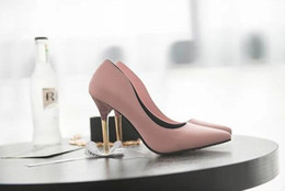 Wholesale Office Direct - Women High Heel Shoes New Europe the United States fashion sense of shallow mouth ladies single shoes nightclub high heels factory direct
