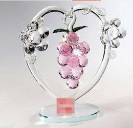 Wholesale Wedding Vases China - Beautiful Popular Crystal apple tree love Vase Decoration creative wedding gifts birthday gifts crystal crafts