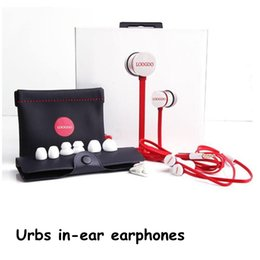 Wholesale Wholesale Silver Fast Shipping - Top A+Quality Urbs in-ear earphones headphones sports headsets for iphone fast ship DHL