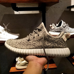 Wholesale Lining Basketball - Wailly New 350 Boost Sneakers Line,Four Colors Kanye West Boost 350 Shoes Pirate Black,Turtle Dove,Moonrock,Oxford Tan With Box
