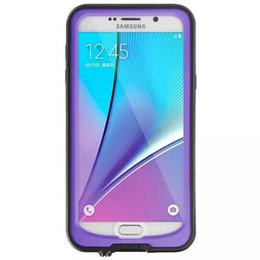 Samsung note estuche original online-100% original Redpepper a prueba de choques a prueba de choques a prueba de agua Funda para surfing para Samsung Note 5 Envío de la gota