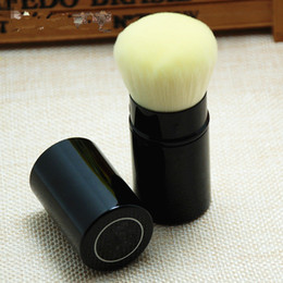 Wholesale Powdered Metals - CC Les Beiges RETRACTABLE KABUKI BRUSH - Box Package - Beauty Cosmetics Makeup Brushes Blender