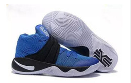 Wholesale Tie Up Balls - New Kyrie Irving basketball shoes sport sneakers Mens Kyrie 2 II Bright Crimson Tie Dye BHM Basket Ball Olympic Men Shoes Sneakers For Cheap