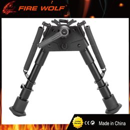 Wholesale high hunting - 6-9 inch Harris bipod High Shockproof Swivel series tilting bipods with adjusting Pod-locker Pivot Model Bipod for hunting
