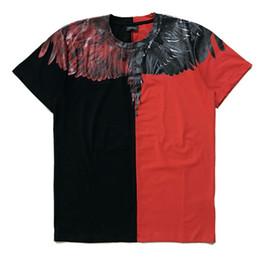 Wholesale Marcelo Burlon T Shirt - Marcelo Burlon T shirt Men Italy 2017 Marcelo Burlon Wing Jordan t shirt Men Casual Women MB Summer Style Marcelo Burlon tshirt