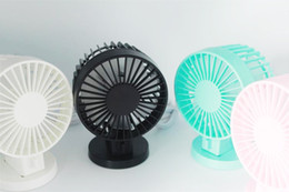 Wholesale Double Wall Plastic - Newest Mini USB Fan Double Pins Flexible Small-scale Portable Super Mute Cooler Cooling For iPhone Samsung Android Cellphone Mobile power