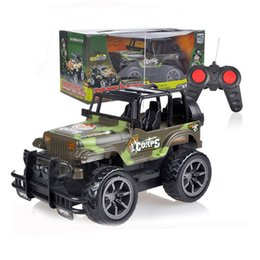 Wholesale Radio Control Off Road - Wholesale- Kids Baby Toy Children's Toys 1:24 Drift Speed Radio Remote control RC Jeep Off-road vehicle+Headlight rc car Baby Toys Gift FCI