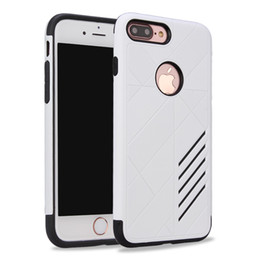 Wholesale Cell Phone Covers For Cheap - For Coolpad C3701A Revvl Plus 3622A 3623A Cheap Durable TPU PC Hybrid Defender Cell Phone Phone Case Colorful Armor Hard Cover