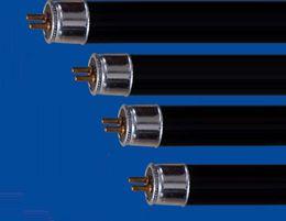 Tubo t5 6w online-Envío al por mayor-libre T5 4W 6W 8W Ahorro de energía Negro Light Blue Straight Tube, luz de 365nm UVA, BLB, luz púrpura